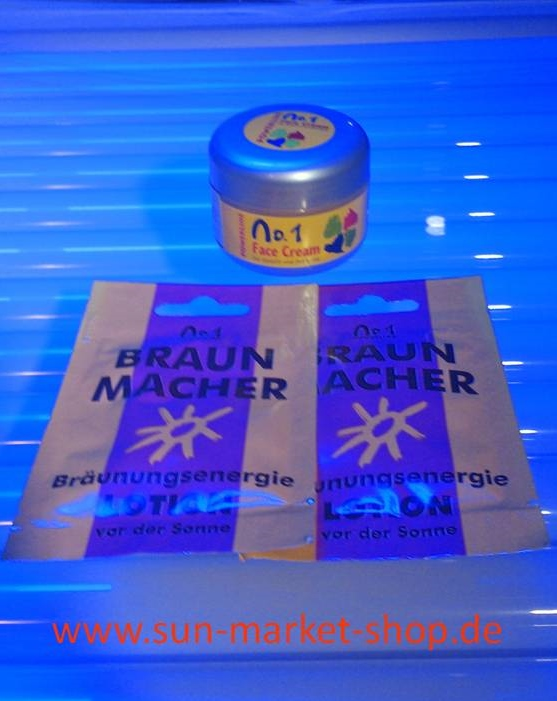 Face Cream Wax & 2 x Braunmacher 12 ml