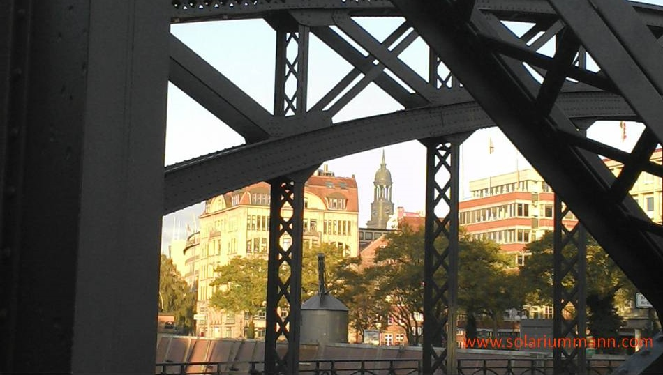 Blickwinkel aus Richtung Hafencity