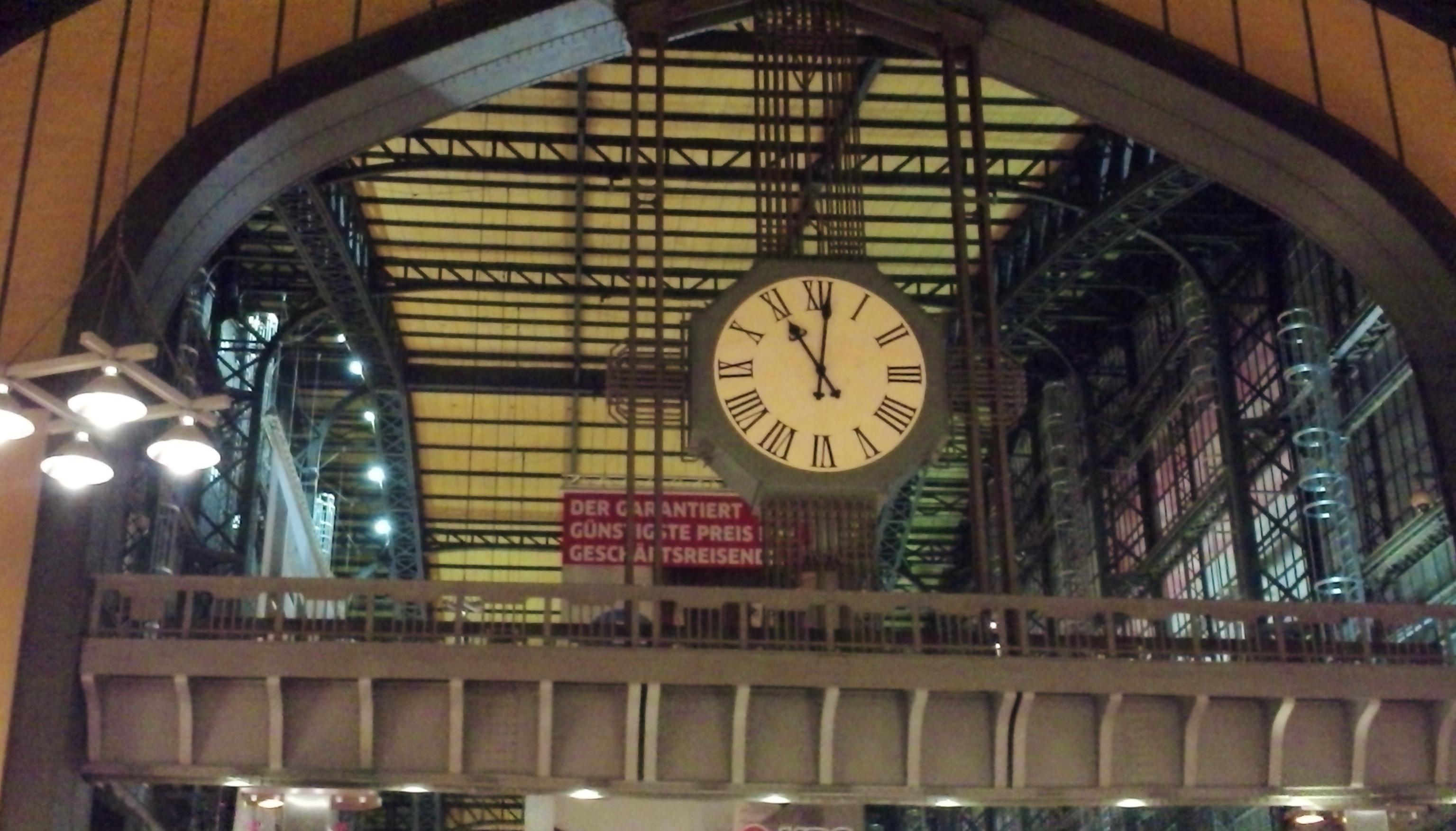 23 Uhr am Hauptbahnhof - ab ins Hotel