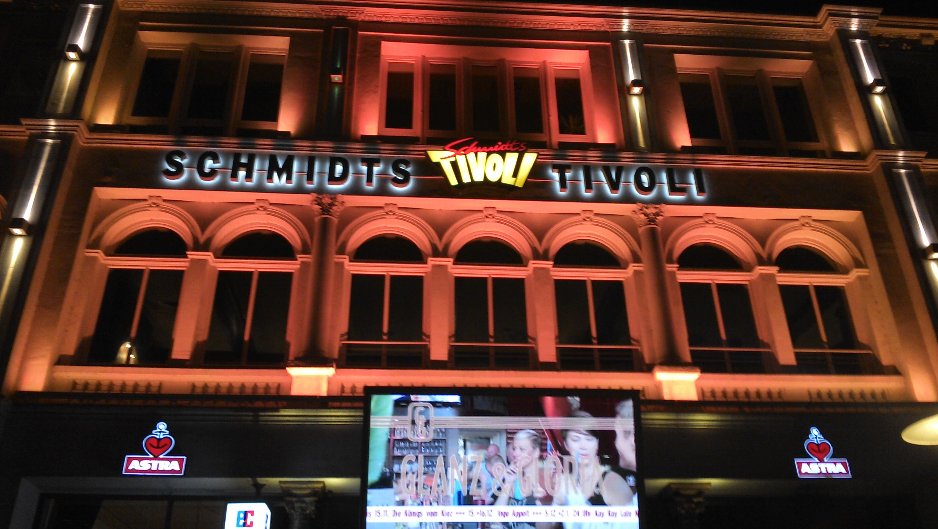 hier ist immer was los Schmidts Tivoli