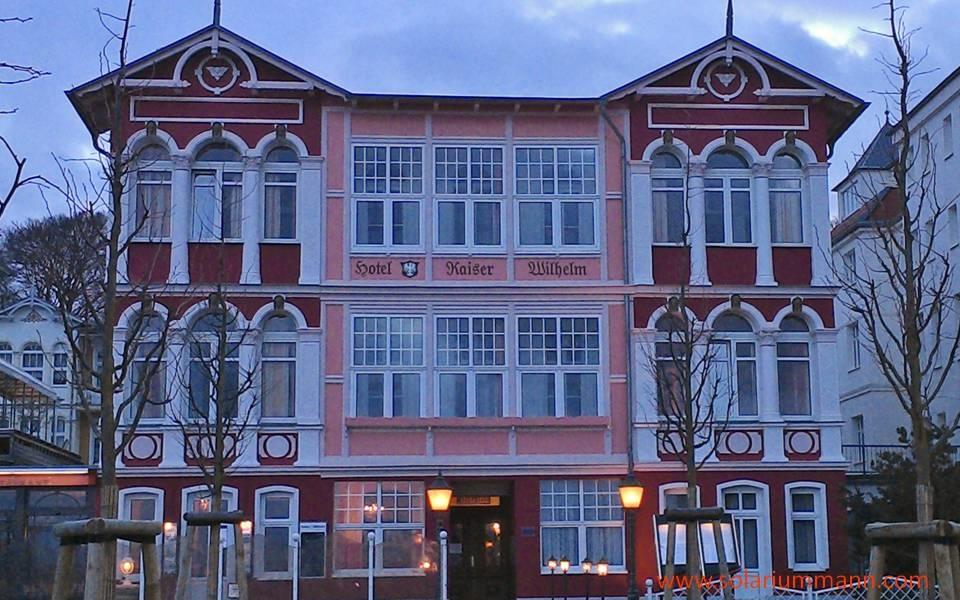 Erinnerungen an alte Zeiten. Hotel Kaiser Wilhelm in Bansin