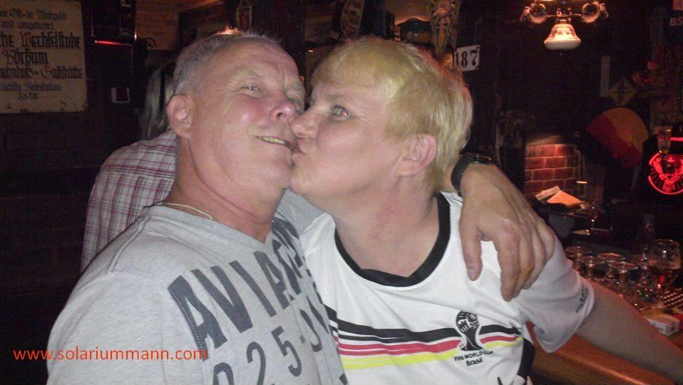 die beiden sind schon ein tolles Paar WM in Marions Schinderhannes
