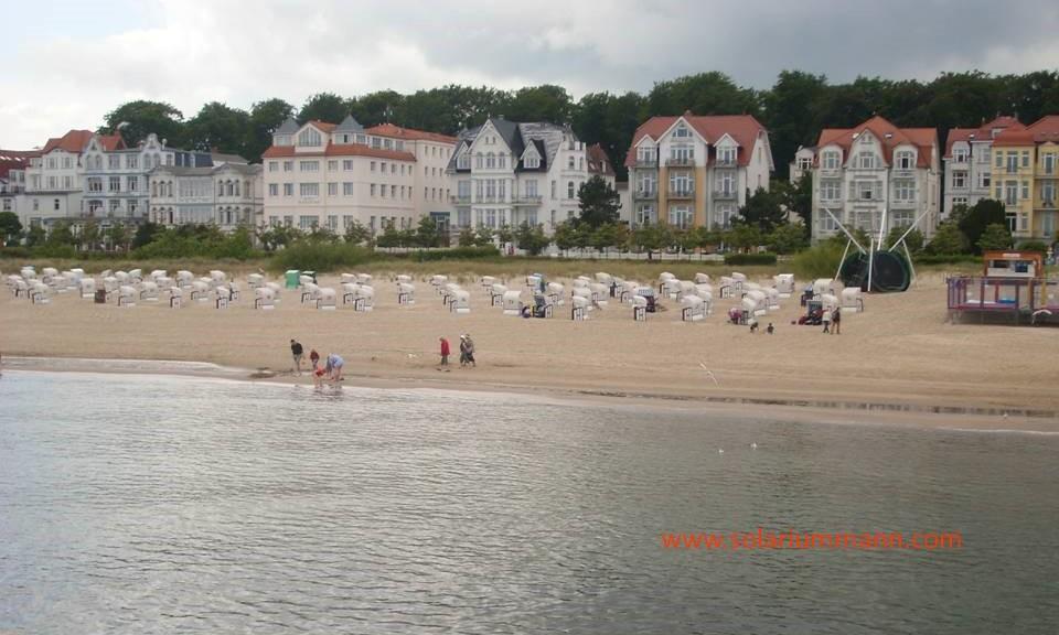 Promenade und Strand von Bansin