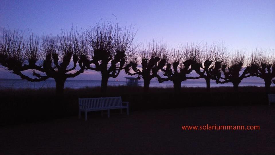 Sonnenaufgang in Bansin auf der Ostsee Insel Usedom