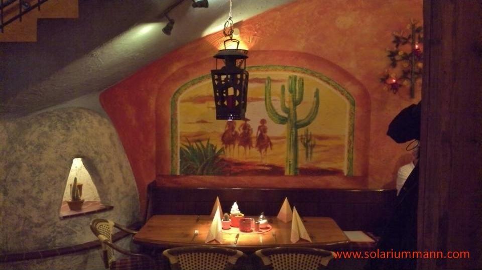 sehr schönes Ambiente im mexikanischen Restaurant La Posada