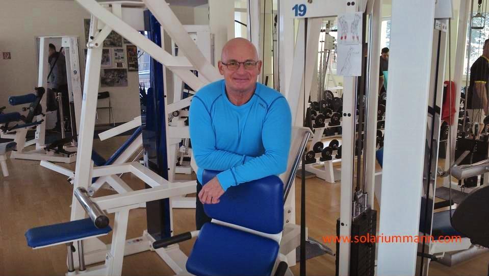 Olaf Scharfenberg leitet das Ostsee Fitness Studio in Bansin