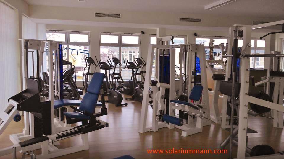 der Gerätepark im Ostsee Fitness Studio