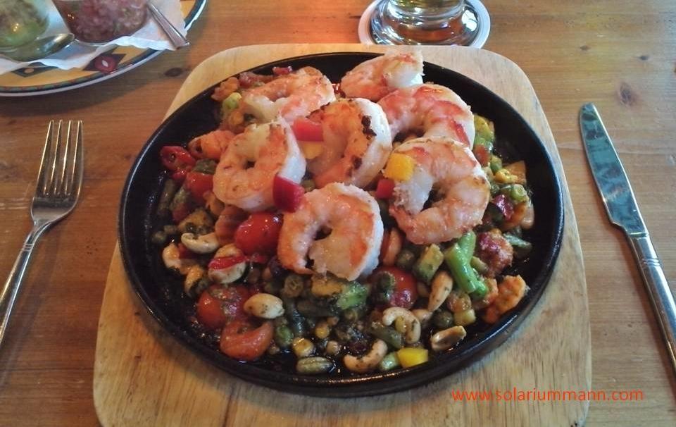 ja das esse ich wirklich gerne, hier im La Posada in Bansin