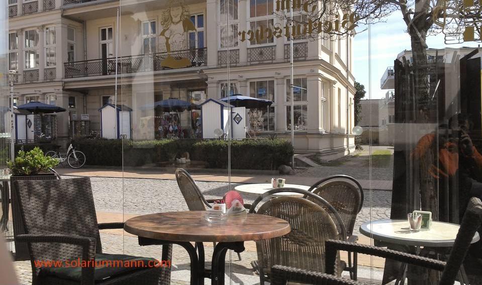 Mittagessen im Bierkutscher Bansin - Usedom