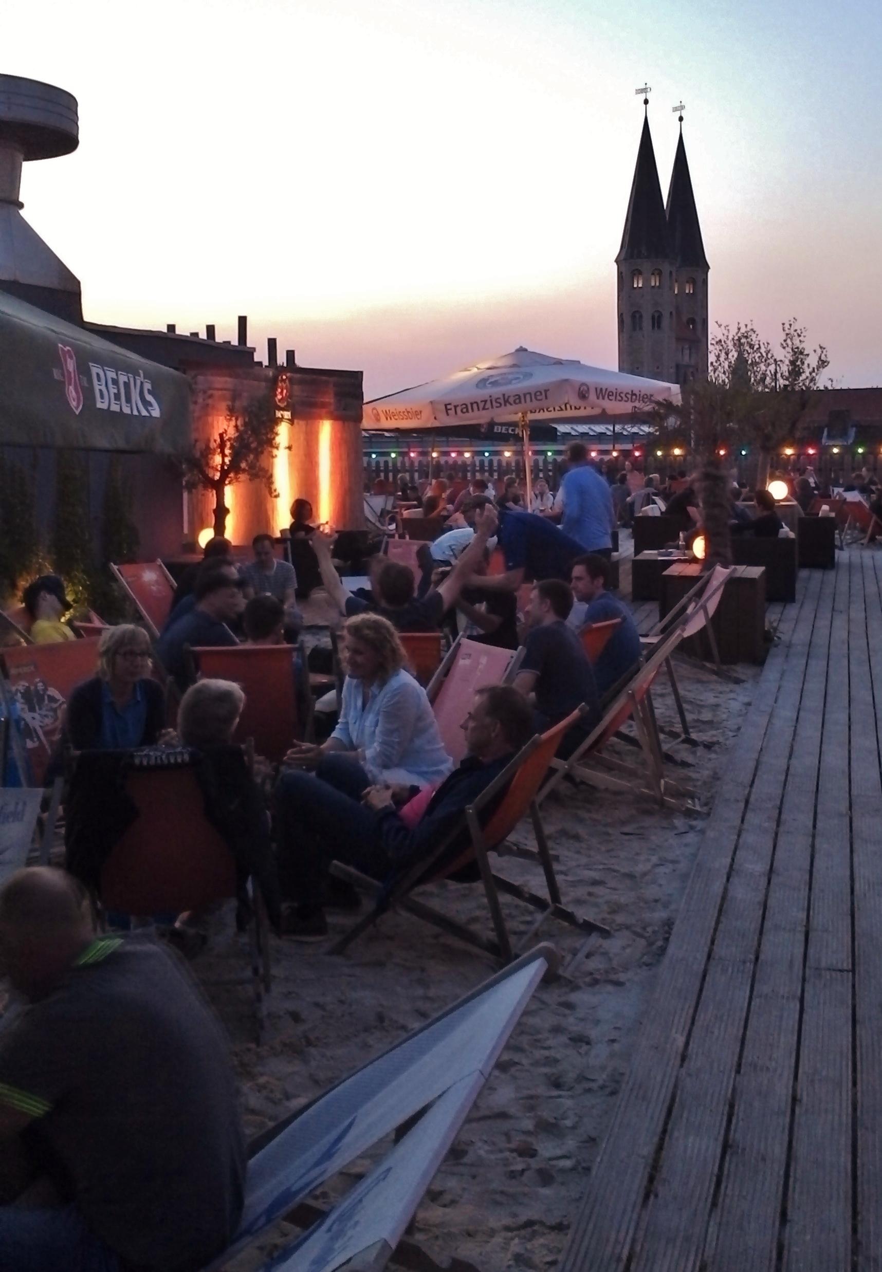 Schöne Sommer Abende mitten in Braunschweig