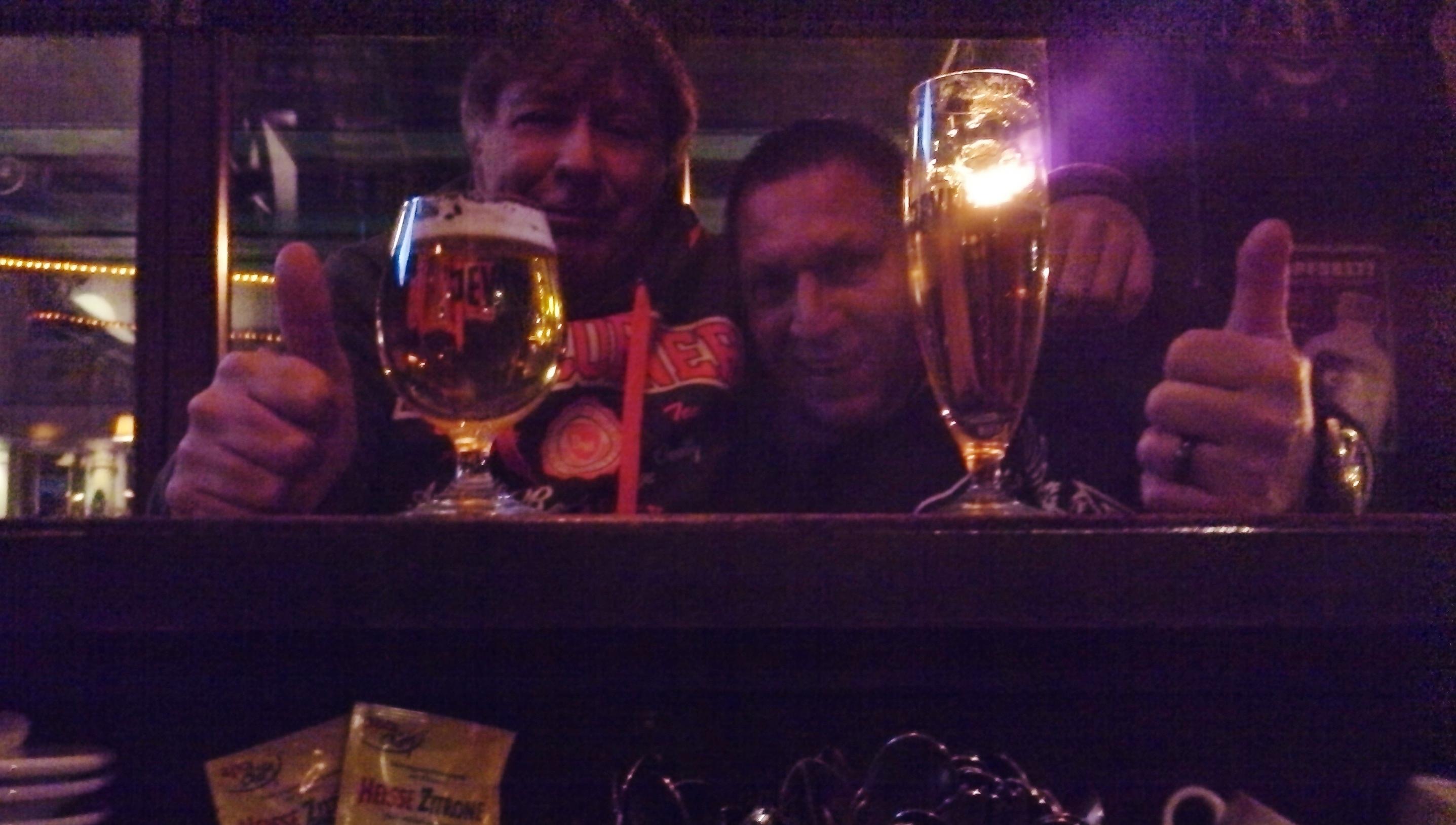 Abschiedsabend mit Karsten im Bierkutscher in Bansin auf der Insel Usedom -